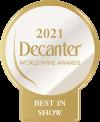 2021- Decanter WWA – Best in Show